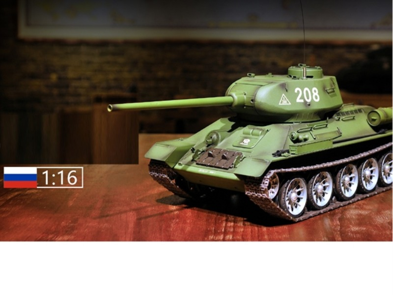 1:16 SOVIET UNION T-34/85 RC MEDIUM TANK(PROFESSIONAL )