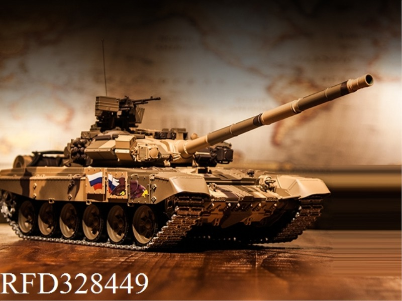 1:16 RUSSIAN T-90 RC MAIN BATTLE TANK(UPGRADE )