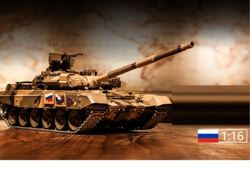 1:16 RUSSIAN T-90 RC MAIN BATTLE TANK(PROFESSIONAL )