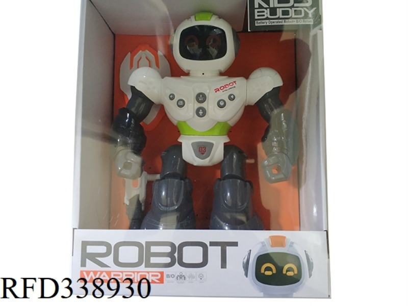 ELECTRIC MAGIC SOUND POLICE ROBOT