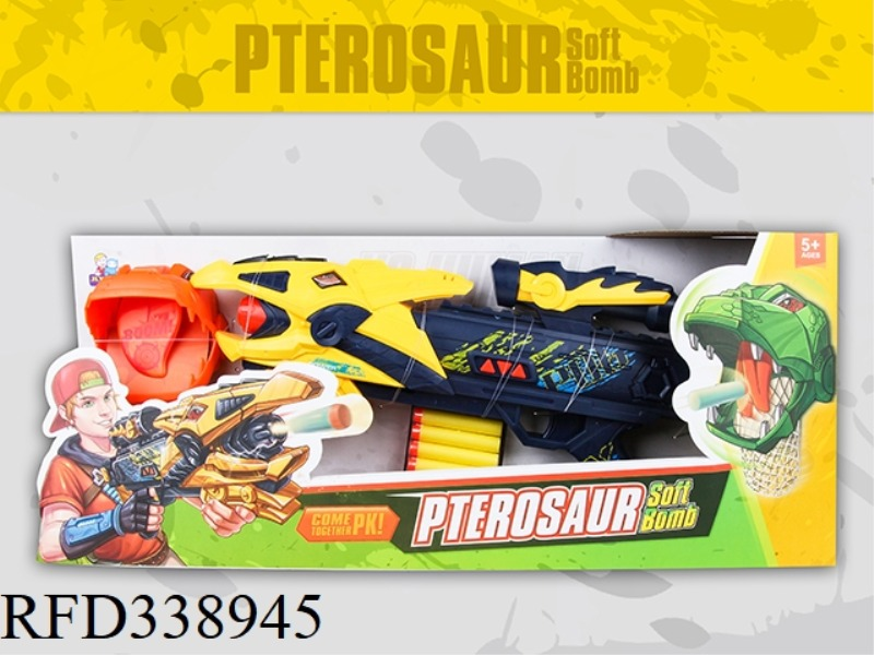 PTERODACTYL SOFT BULLET GUN WITH VOICE