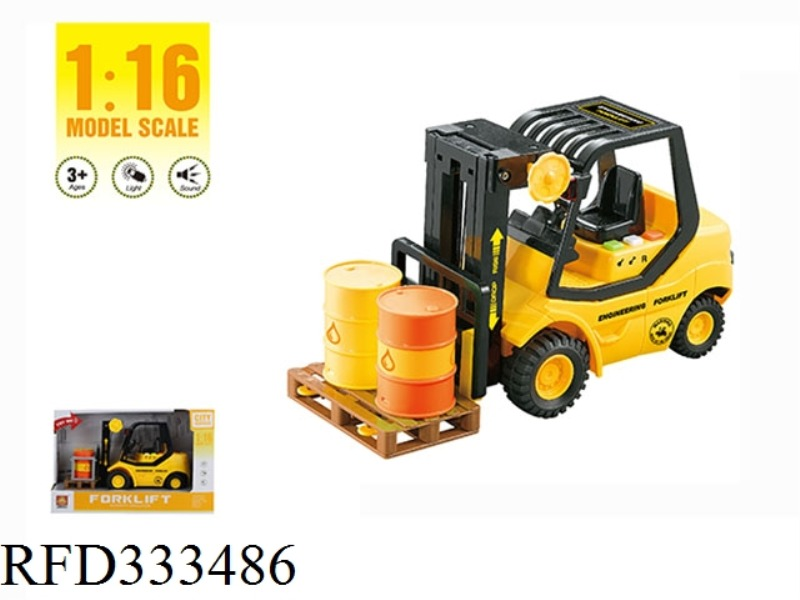 1:16 FRICTION FORKLIFT WITH LIGHT AND SOUND