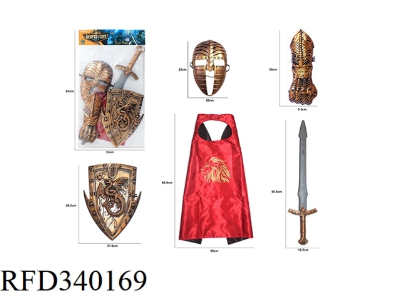 BRONZE WAR GEAR COMBINATION (5PCS)