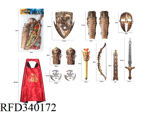 BRONZE WAR GEAR COMBINATION (13PCS)