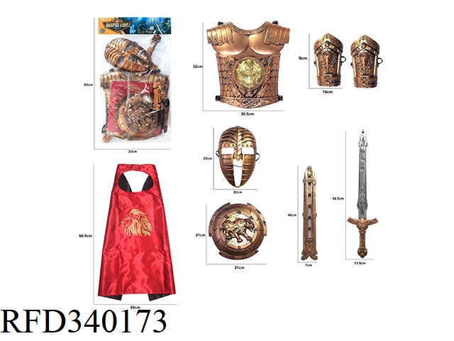 BRONZE WAR GEAR COMBINATION (8PCS)