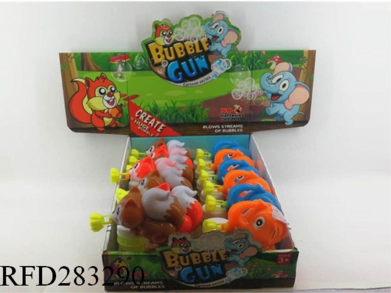 BUBBLE GUN 12 PCS