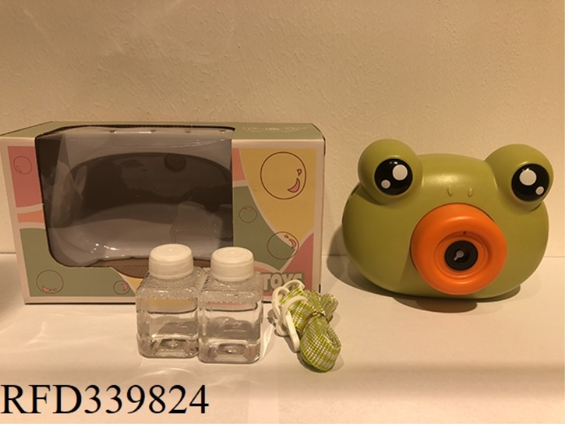 FROG BUBBLE MACHINE.