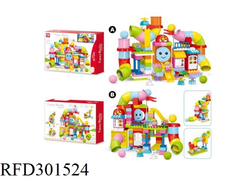 BUILDING BLOCKS-PIPELINE PARADISE 133PCS