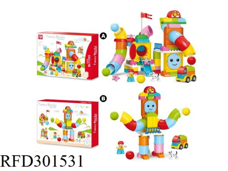 BUILDING BLOCKS-PIPELINE PARADISE 80PCS