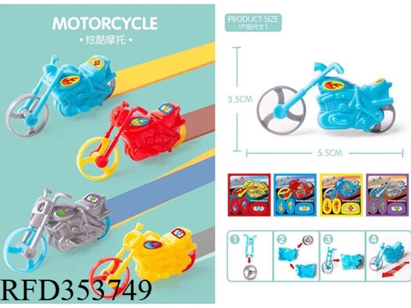 ASSEMBLED MOTORCYCLE RACING