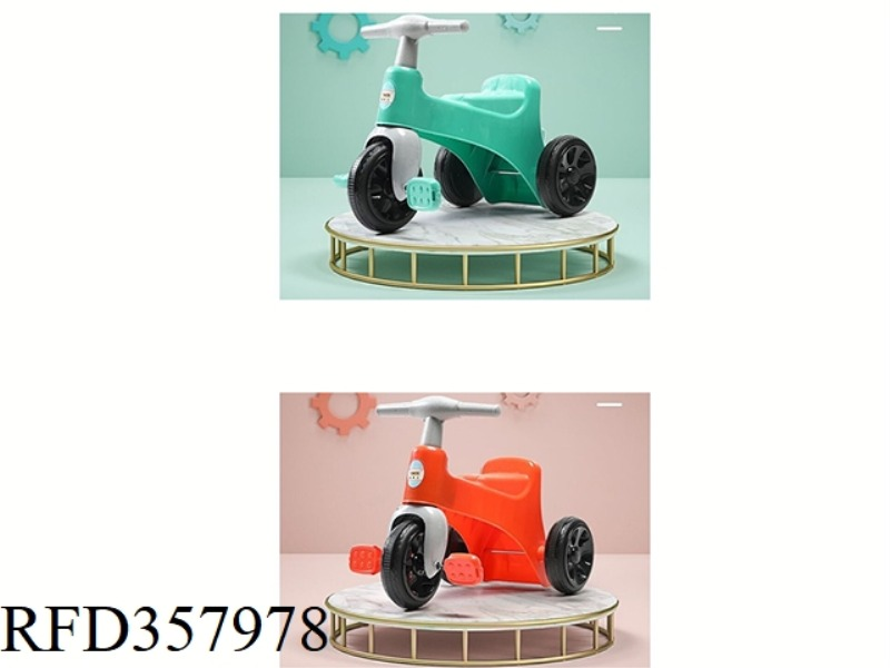 TRICYCLE (LAKE BLUE/ORANGE RED) 2 COLORS