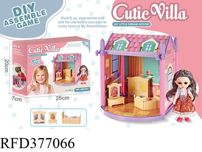 DIY PRINCESS VILLA